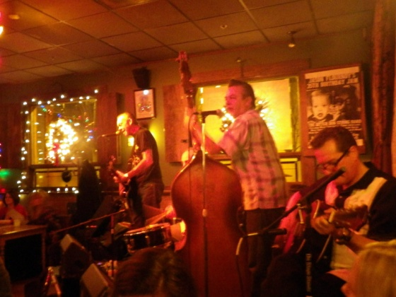 the rockabilly band at jack of the wood