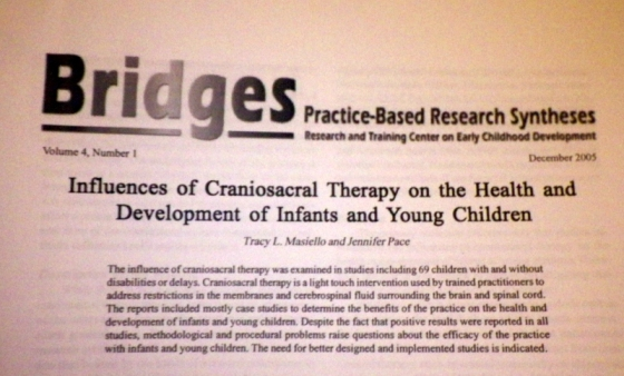 My mom found this... My first publication!