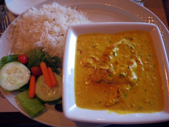 Indian food is my favorite