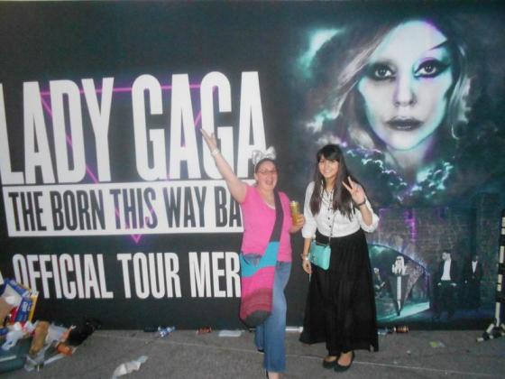 Lady Gaga concert in Seoul, April 2012
