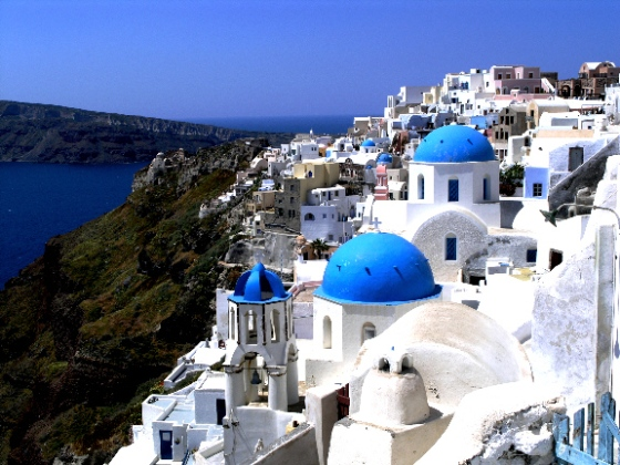 so excited to visit Santorini!