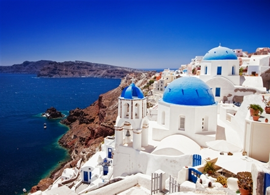 I can't wait to visit Santorini!