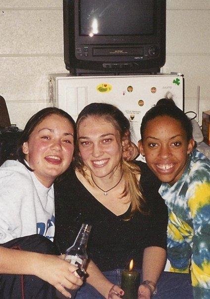 me, Emily, and Tessa