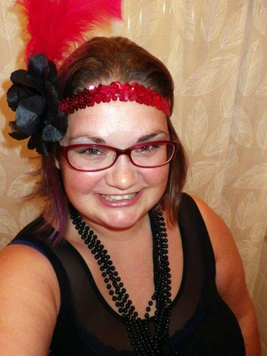 my flapper costume last year