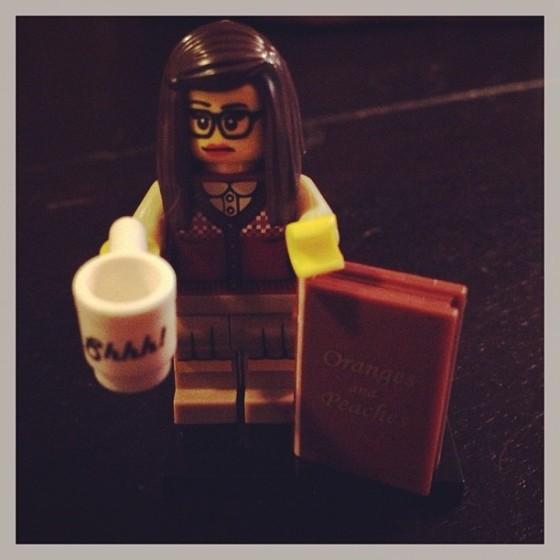 Lego librarian!